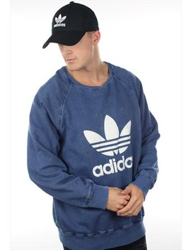 Vintage Adidas Originals Big Trefoil Sweatshirt Jumper by Adidas