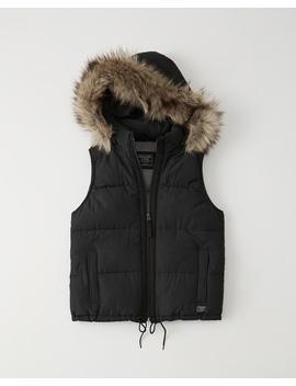 Chaleco Acolchado by Abercrombie & Fitch