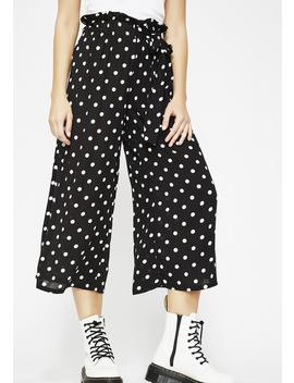 On The Dot Cropped Pants by Sans Souci Clothing