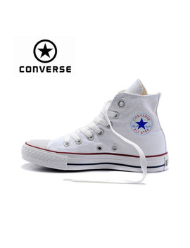 Genuine Black White Converse All Star Sneaker Unisex High Top Skateboarding Shoes Women Men Lace Up Classic Canvas Sneaksers by Converse