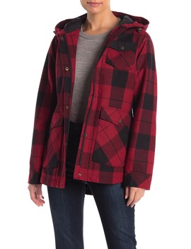 Alta Plaid Wool Blend Coat by Pendleton