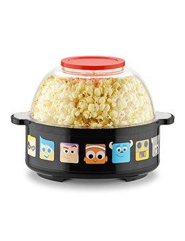 Disney Dpx 16 Pixar Collection Stir Popcorn Popper, One Size, Black by Disney