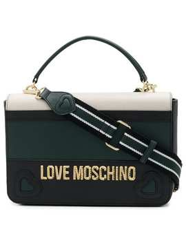 Colour Block Tote Bag by Love Moschino