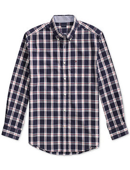 Men's Plaid Shirt With Magnetic Buttons by Tommy Hilfiger Adaptive