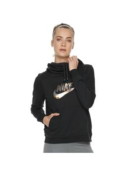 Women's Nike Sportswear Funnel Neck Fleece Hoodie by Kohl's