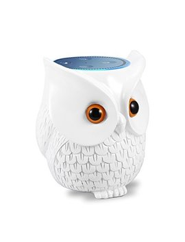 Mounchain Echo Dot Case, Echo Dot Holder Bff For Alexa Owl Statue Crafted Guard Station Creativce For Amazon Echo Dot 2nd And 1st Generation Guard Holder Guard Station Decoration For Smart Home by Mounchain