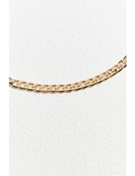 Long Curb Chain Necklace by Urban Outfitters