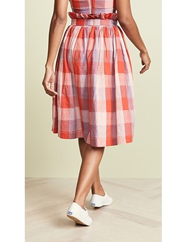 Checkered Skirt by English Factory