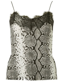 Snake Lace Trim Cami Top by Dorothy Perkins