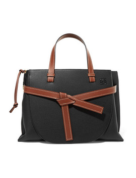 Gate Textured Leather Tote by Loewe