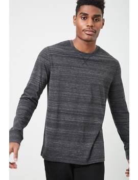 Marled Long Sleeve Tee by Forever 21