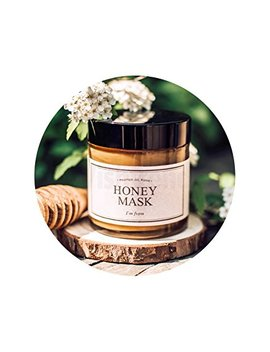 I'm From Honey Mask   Natural Herbal 38.7 Percents Inside, Pure Mask   Deep Moisturizing, Soothing & Nourishing by I'm From