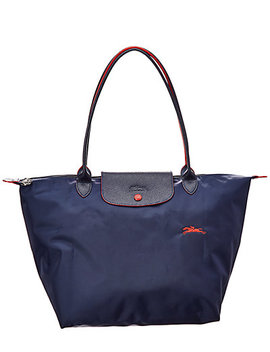 Longchamp Le Pliage Collection Large Nylon Top Handle Tote by Longchamp