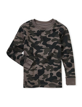 (Boys 4 7) Camouflage Thermal by French Toast