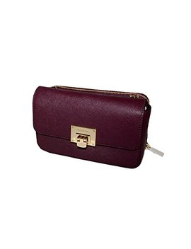 Michael Michael Kors Tina Women's Wallet Clutch Xbody Shoulder Leather Double Bag by Michael Michael Kors