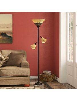 """Fleur De Lis Living Arbor Glen 71"""" Torchiere Floor Lamp & Reviews by Fleur De Lis Living"""