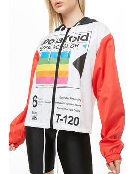 Polaroid Colorblock Windbreaker by Forever 21