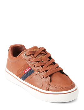 (Toddler/Kids Boys) Tan Turner Low Top Sneakers by Levi's