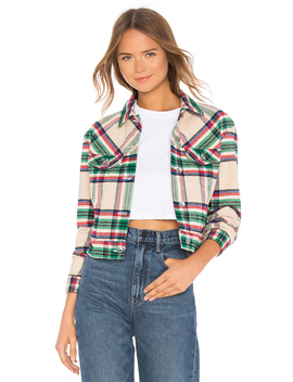 Kathleen Box Crop Jacket by Father's Daughter