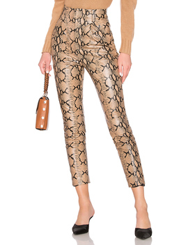 Leather High Waist Pant by Lpa