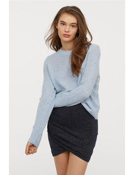 Short Glittery Skirt by H&M