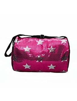 Girls Dance Duffle Sequin Star Bag With Shoulder Strap Choose Color by Lil Princess