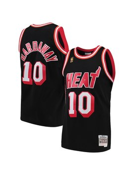 Tim Hardaway Miami Heat Mitchell & Ness 1996 97 Hardwood Classics Swingman Jersey – Black by Mitchell & Ness