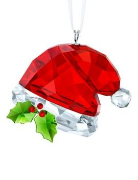 Santa's Hat Crystal Ornament by Swarovski