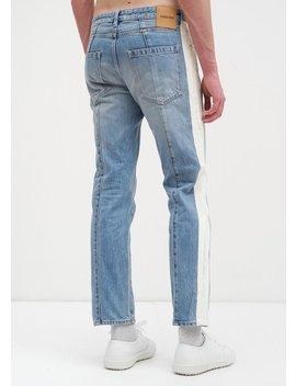 Ambush Nobo Stripe Jeans   Blue by Garmentory