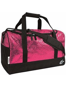 Chassé Girls' Glitter Duffle Bag Glitter Pink/Black by Chassé