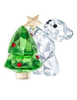 Crystal Bear Ornament by Swarovski