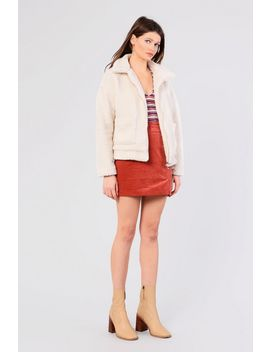 **Teddy Jacket By Glamorous by Topshop