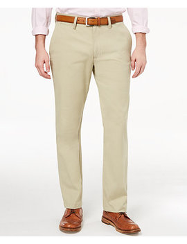 Men's Stretch Chinos, Created For Macy's by Club Room