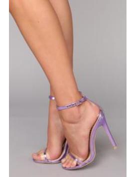 Take It Back Heel   Purple by Fashion Nova