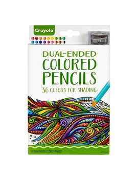 Crayola Dual Ended Colored Pencils 18ct by Crayola