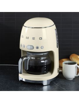 Smeg Cream Drip Coffee Maker by Crate&Barrel
