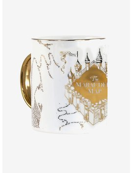 Harry Potter Gilded Marauder's Map Mug by Hot Topic