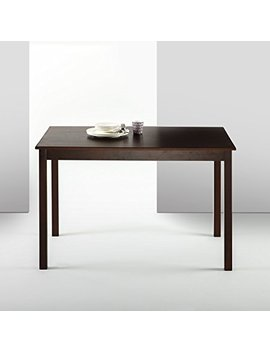 Zinus Espresso Wood Dining Table / Table Only by Zinus