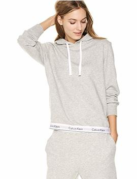 Calvin Klein Women's Modern Cotton Lounge Drawstring Hoodie by Calvin+Klein