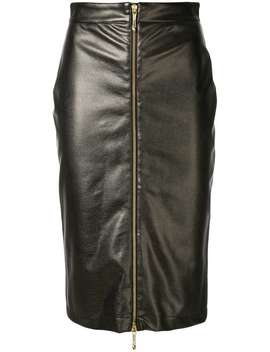 Zipped Pencil Skirt by Just Cavalli
