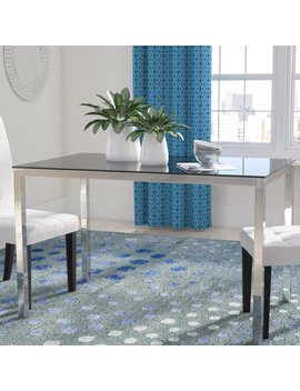 Wade Logan Heier Rectangle Dining Table & Reviews by Wade Logan