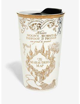 Harry Potter Marauder's Map Ceramic Travel Mug by Hot Topic