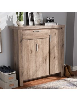 Union Rustic Tellier Shoe Storage Cabinet by Union Rustic