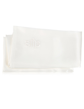 King Pure Silk Pillowcase   White (1 Piece) by Slip