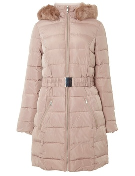 **Tall Light Pink Padded Coat by Dorothy Perkins