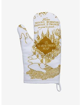 Harry Potter Marauder's Map Oven Mitt by Hot Topic