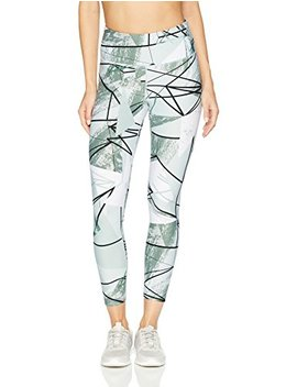 Calvin Klein Women's Dimension Print High Waist 7/8 Length Fitness Tight by Calvin+Klein