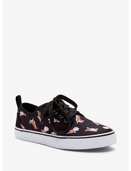 Corgi Lace Up Sneakers by Hot Topic