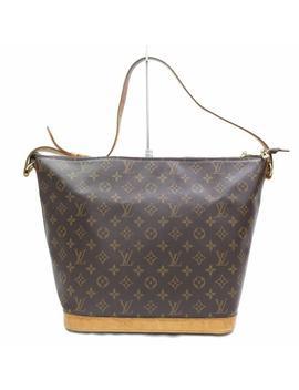 Amfar Sharon Stone Three 867466 Brown Coated Canvas Shoulder Bag by Louis Vuitton