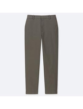 Women Ezy Chino Ankle Pants by Uniqlo